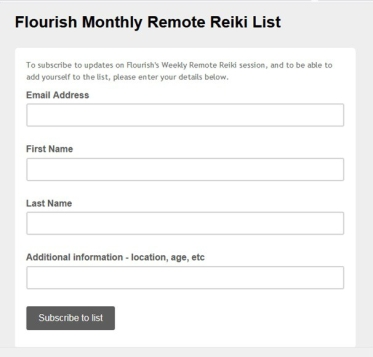 monthly remote list