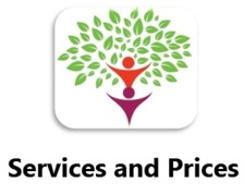 Services an Prices